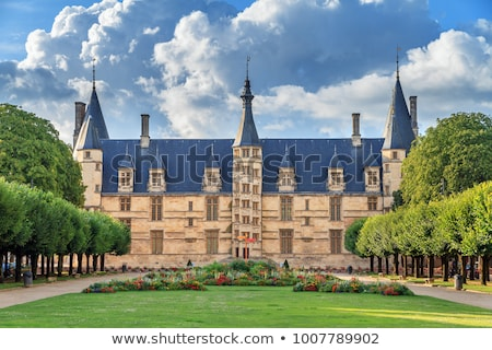 Palota Franciaország központi épület utazás kastély Stock fotó © tilo