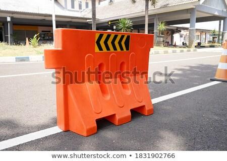 рабочие · команда · дорожное · строительство · дороги · здании · работу - Сток-фото © oakozhan
