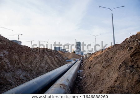 Underground Sewer Stock photo © albund
