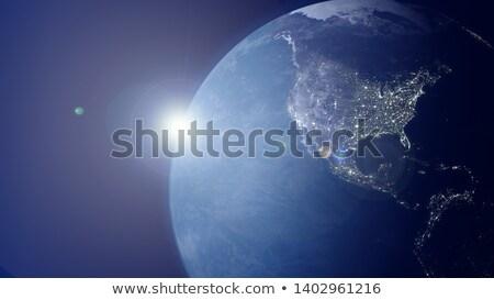 Mundo 3D mapa fondo tierra Foto stock © magann