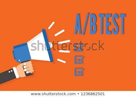conversion marketing   doodle orange word business concept stock photo © tashatuvango