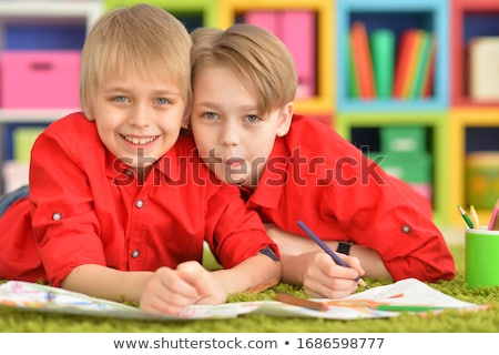 two blond boys Stock photo © IS2