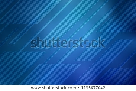 Stockfoto: Abstract Blue Mosaic Background