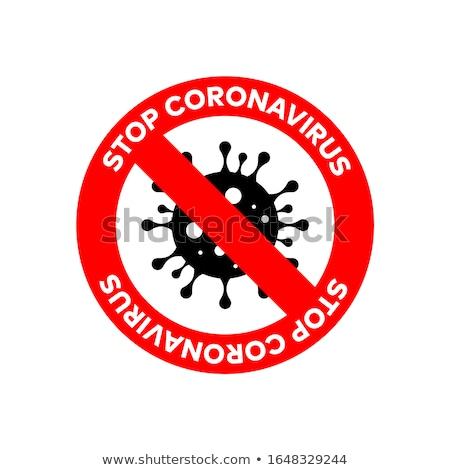 fenyegetés · vírus · számítógép · részletes · iroda · internet - stock fotó © milsiart