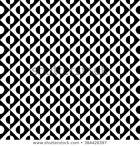 Vector seamless pattern. Modern stylish texture. Repeating geometric tiles from striped elements Stock photo © Samolevsky