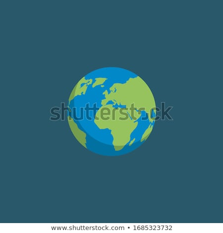 Stok fotoğraf: Ayarlamak · uzay · simgeler · dünya · gezegeni · örnek