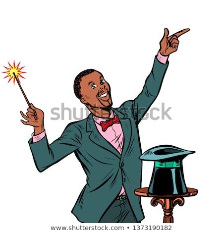 アフリカ マジシャン すごい パフォーマンス サーカス パフォーマー ストックフォト © studiostoks