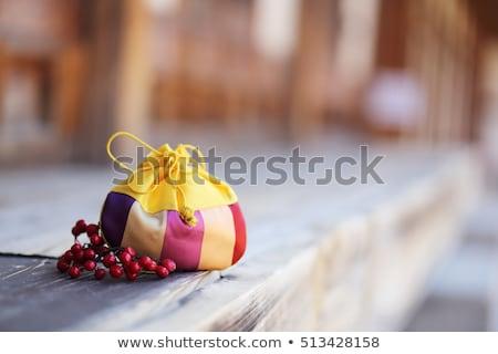 Сток-фото: красочный · подарок · Рождества · Новый · год · лук