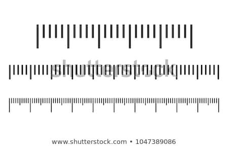 Centymetrem narzędzie zestaw przezroczysty strony Zdjęcia stock © romvo