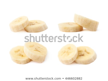 two bunches of bananas isolated on a white background stock photo © latent