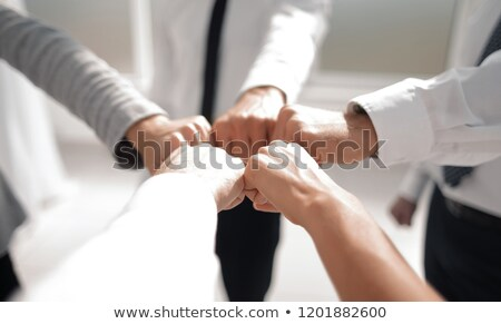Businesspeople Making Fist Bump Stock photo © AndreyPopov