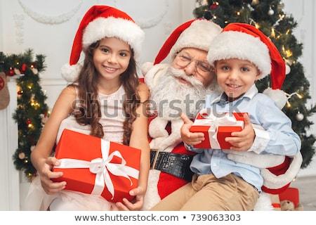 iki · küçük · erkek · çocukluk · aile - stok fotoğraf © nyul