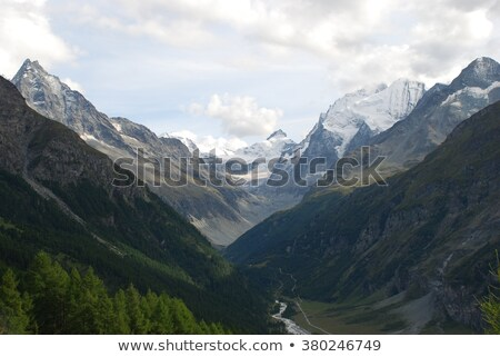 Mountain valley Stock photo © lichtmeister