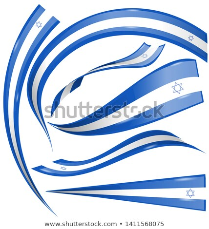 Vlag element geïsoleerd witte business ontwerp Stockfoto © doomko
