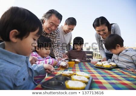 Ver família aniversário neto Foto stock © wavebreak_media
