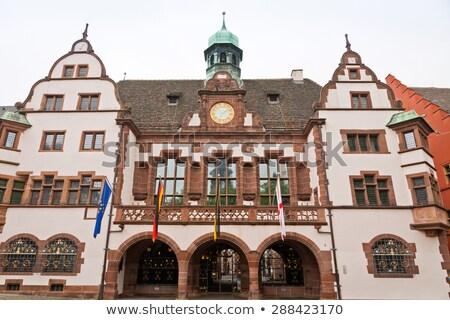 исторический · зале · Германия · здании · город · городского - Сток-фото © borisb17