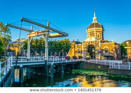 Hollanda batı kapı güney Hollanda taş Stok fotoğraf © borisb17