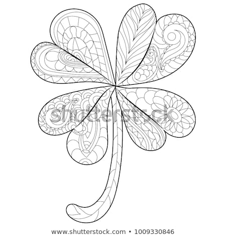 Vector seamless pattern. Abstract hand drawn flowers. Color stains and spots. Floral composition. Fr Stock photo © user_10144511