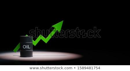 Arrow grafico nero verde copia spazio Foto d'archivio © make