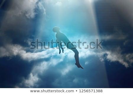 Morto homem alma fantasma fundo Foto stock © popaukropa