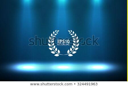 Winnaar gefeliciteerd studio scène vector gouden Stockfoto © pikepicture