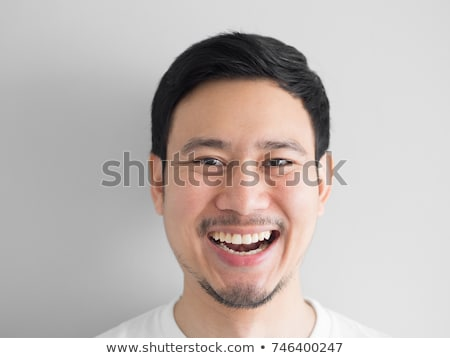Funny portrait of laughing businessman Stock photo © Giulio_Fornasar