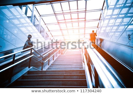 The modern metal stair at office building Stock photo © ruslanshramko