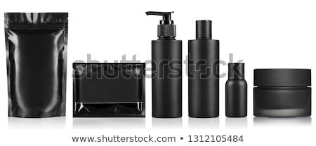 nero · shampoo · bottiglia · medici · corpo · vetro - foto d'archivio © elly_l