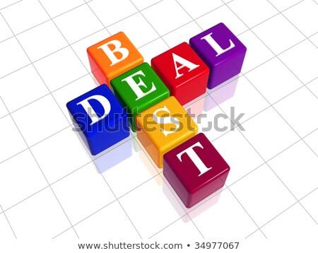 comprar · vender · sucesso · palavras · cruzadas · palavras · branco - foto stock © marinini