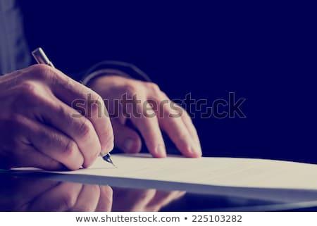 comentar · papel · assinar · cor · gráfico · desenho · animado - foto stock © suriyaphoto
