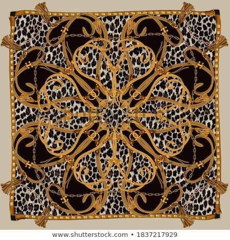 Pasa tkaniny metal tablicy kawałek dżinsy Zdjęcia stock © Alina12