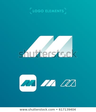 Glossy Icons for letter W Stock photo © cidepix