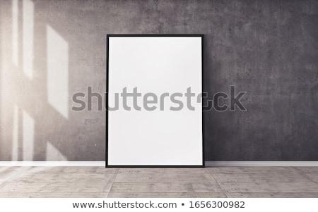 Art gallery sign Stock photo © Elenarts