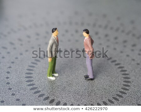 Tension between two businessmen Stock photo © photography33