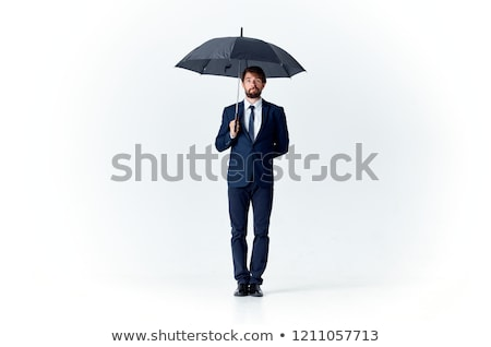 Man with umbrella Stock photo © photography33