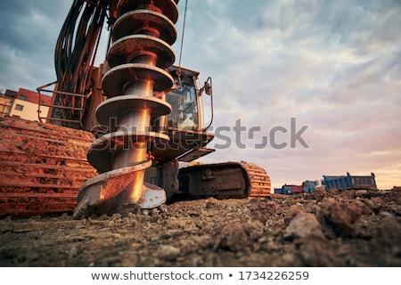 machine for drilling Stock photo © grafvision