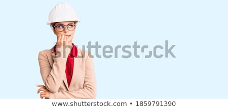 An overwhelmed architect. Stock photo © photography33