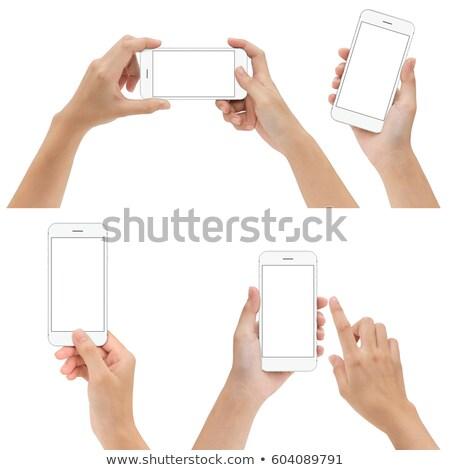 Set of seven hands Stock photo © fixer00