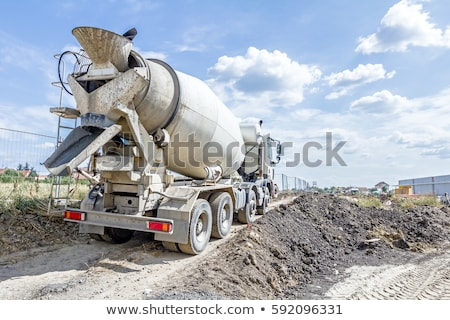 Cement lorry Stock photo © RTimages