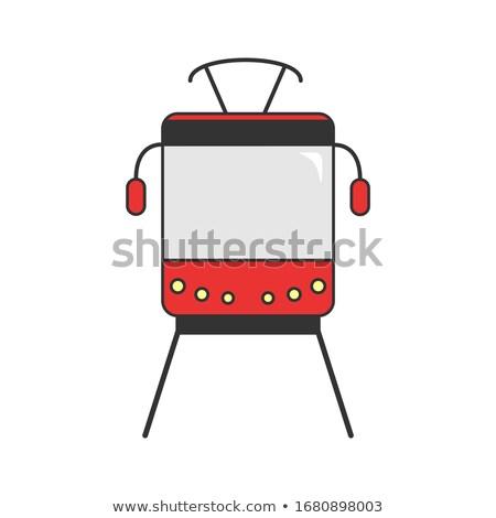 tram rails Stock photo © maisicon