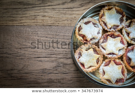 arrangement of mince pies stock photo © danielgilbey