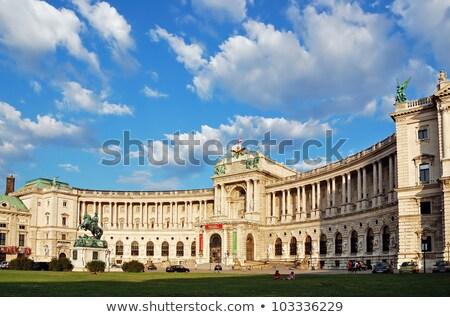 palazzo · Vienna · Austria · costruzione · città · urbana - foto d'archivio © vladacanon