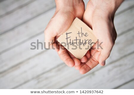 your future is in your hands stock photo © oleksandro