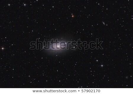 ayçiçeği · galaksi · güneş · ışık · mavi · kırmızı - stok fotoğraf © rwittich