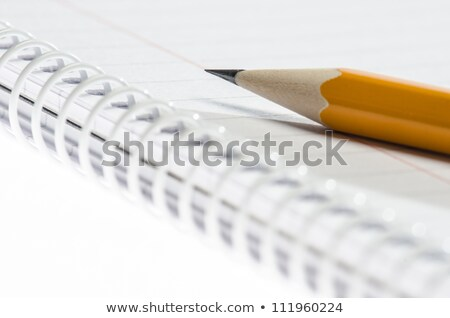 Lead pencil on notepad. Stock photo © ElinaManninen