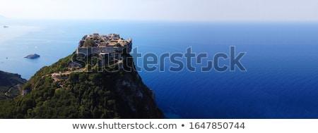 Corfu / Kerkyra Fortifications Aerial View, Greece Stock photo © Bertl123