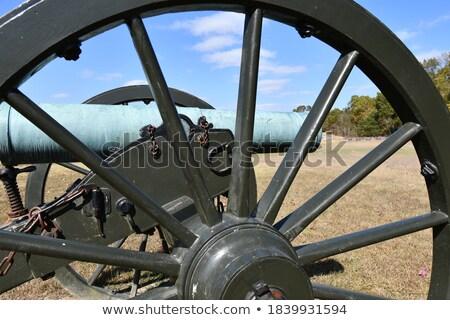 Replica cannon Stock photo © smuki
