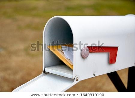caixa · de · correio · pronto · e-mail · pacotes · negócio · mulher - foto stock © zzve