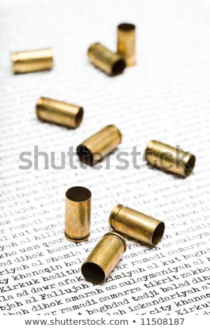 bullets on Iraqi cities Stock photo © alptraum