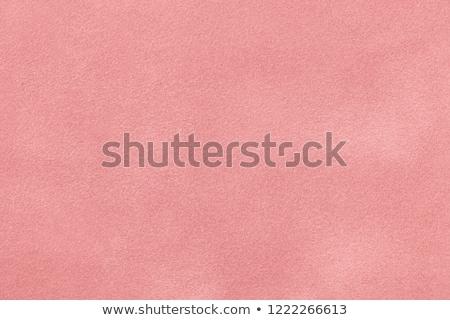 Pink suede Stock photo © homydesign